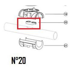 Joint plat de tuyau EU (DN50mm & DN63mm)