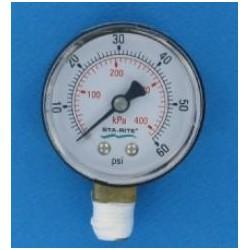 Manomètre Filtre americain PLM (STA-RITE)
