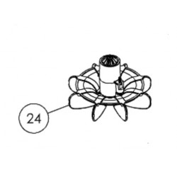 024 Kit turbine + Brosses (x2)