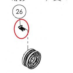 026 Indicateur de vitesse roue
