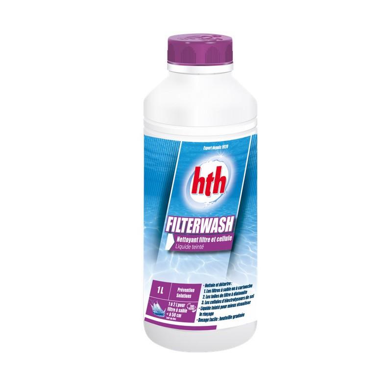 Produit piscine hivernage nettoyant filtre hth filterwash 1l for Produit piscine