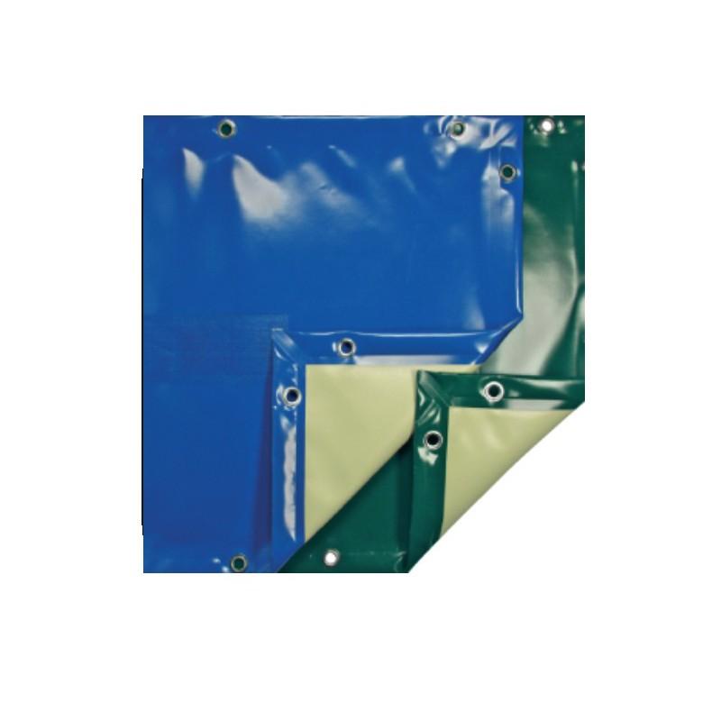 B che de protection pour piscine rectangulaire eco bleu 8x4 for Couverture piscine 8x4