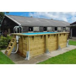 Urban pool 250x450 Liner bleu