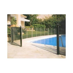 Barri re et cl ture de s curit piscine pas cher for Barriere piscine plexiglass