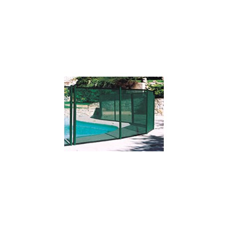 Cl ture piscine amovible barri re de securite piscine for Cloture amovible piscine