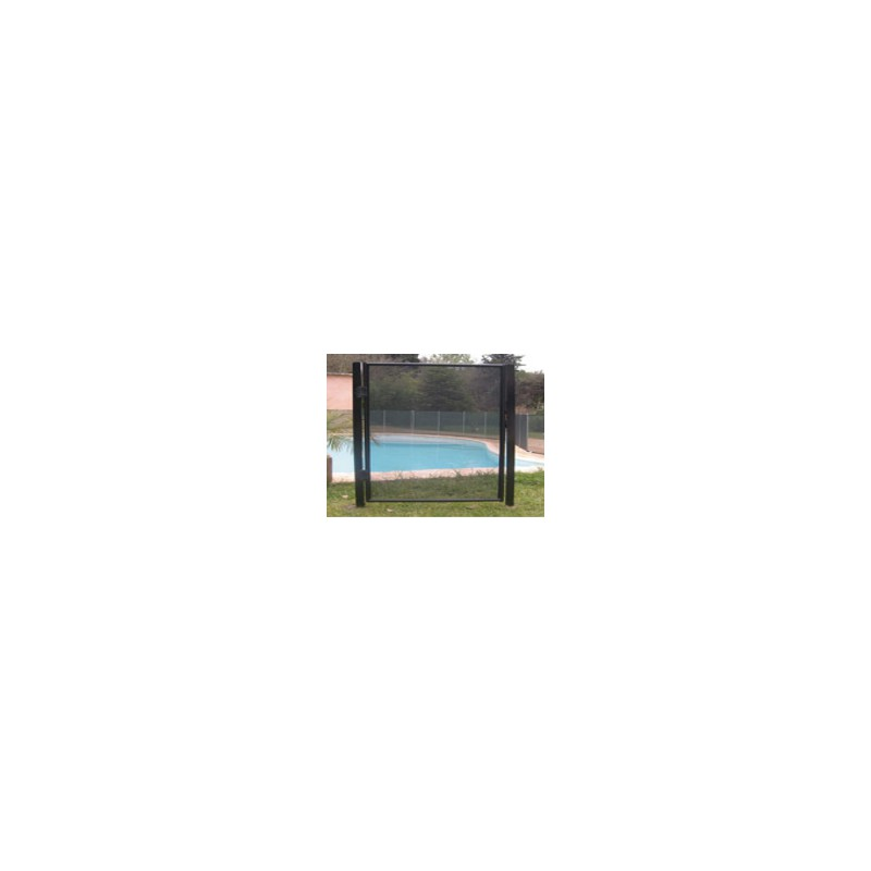 Protection piscine portillon pour barri re d montable - Barriere piscine escamotable ...