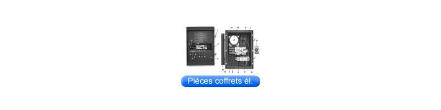 Piéces détachées de coffrets électriques
