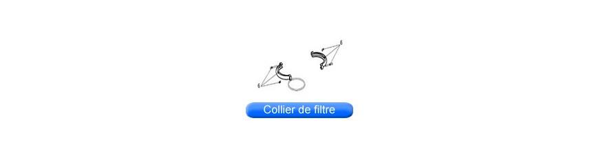 Colliers de filtre pour piscine