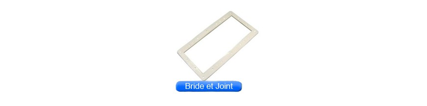 Brides et joints de skimmer