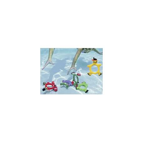 Jeux de 4 Anneaux Plongeurs