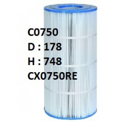 7c Cartouche Star Clear I - C0750- D178/H748 (HAYWARD)