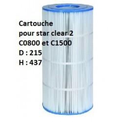 Cartouche Star Clear II - C0800/1500