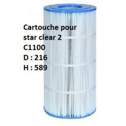 Cartouche Star Clear II - C1100