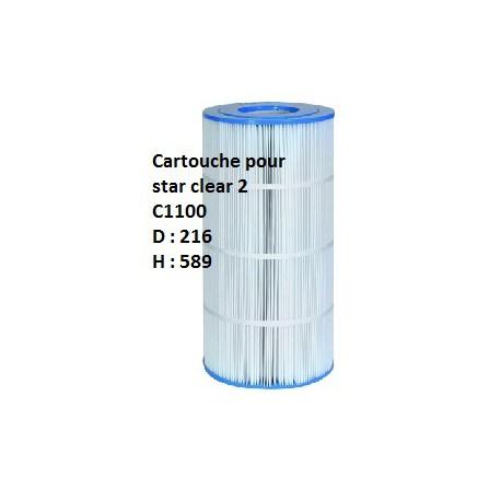 07b Cartouche Star Clear II - C1100