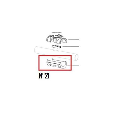 21 Adapteur de tuyau EU (DN50mm)