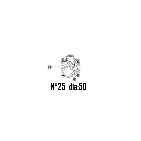"""25 Collier de prise en charge DN50mm - 1/2"""""""