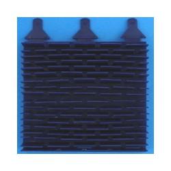 BROSSE LAMELLES PVC EC Bleu pour vortex 3