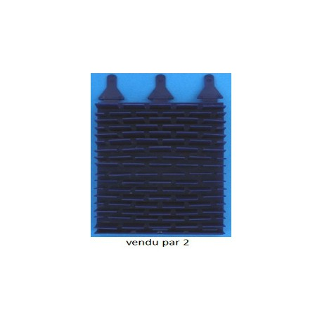 07 BROSSE LAMELLES PAR2 PVC EC Bleu pour vortex 3
