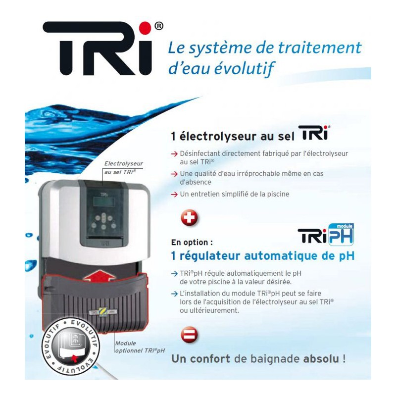 ... Electrolyse Au Sel TRI 10
