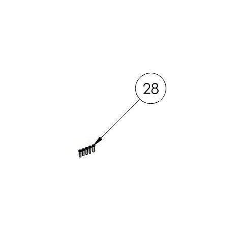 028 Vis 4x16mm (x5)