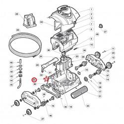 026 Vis plate m7x10mm TORX