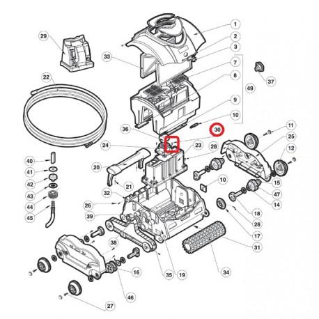 030 Vis m5x12 Pan Torx HD T-20