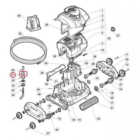 040 Rondelle Cable Supérieur