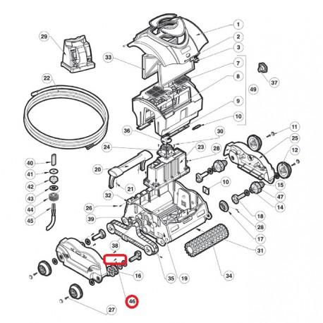 046 Vis m50X20 Pan TORX HD T-20