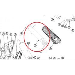 40 Rouleau tube X2 avec roulements