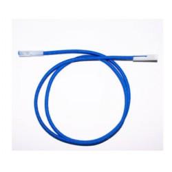 Tendeur de 120cm bleu shadow avec 2 embout de 2pos.