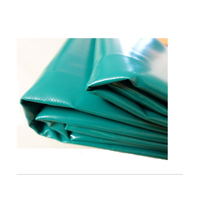 b che de protection piscine rectangulaire luxe vert 8x4. Black Bedroom Furniture Sets. Home Design Ideas