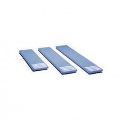 Planche Bleu Pâle Antidérapante 2,30 m pour Piscine