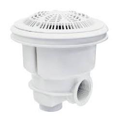 BONDE DE FOND Gamme norm grille anti vortex PARKER Blanc