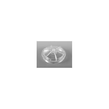 Couvercle Dôme Filtre Sable Luberon transparent pour Piscine