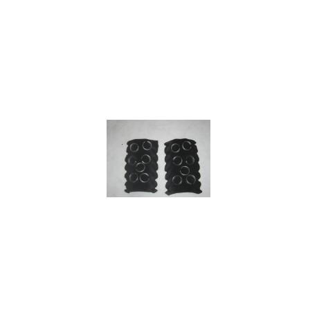 Brosse mousse noire PPI60 Indigo/Sweepy/Voyager (vendue par 2) +