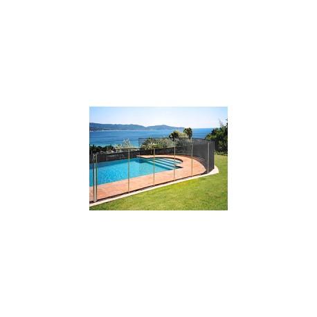 Barri re piscine amovible cl ture de piscine filet beethoven design - Barriere piscine design ...