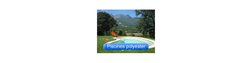Piscines coque polyester