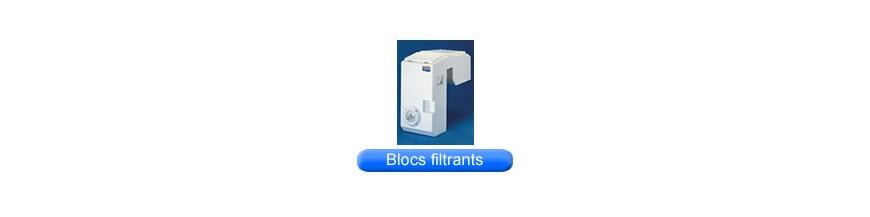 Blocs filtrants