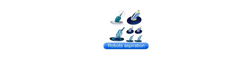 Robots hydrauliques sur aspiration