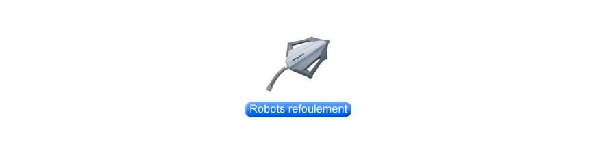 Robots hydrauliques sur refoulement