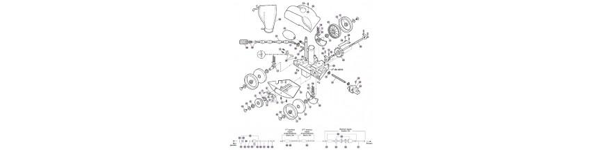Pièces détachées pour robot