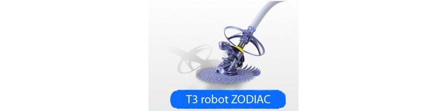 Pieces detachees Robot T3 ZODIAC